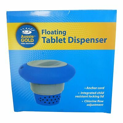 Pool & Spa Deluxe Floating 3 Inch Chlorine Bromine Tablet Chemical Dispenser