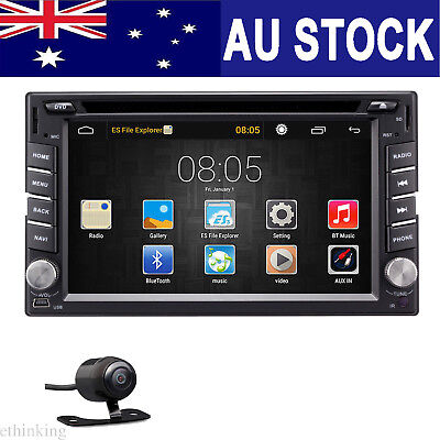 """Quad Core Android 6.0 3G WIFI 6.2"""" Double 2DIN Car Radio Stereo DVD Player GPS"""