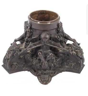 Beautiful French 18th - 19th Century Patinated Bronze Candelabra