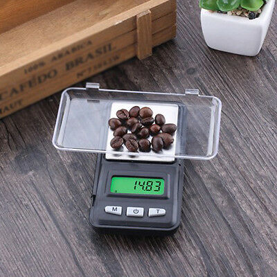 200grams x 0.01g Electronic Digital LCD Mini Pocket Food Jewelry Weighing Scales