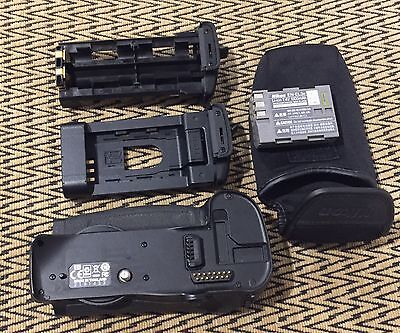 Nikon MB-D10 Grip Genuine with MS-D10 Battery Holders and EN-EL3e D700 DSLR