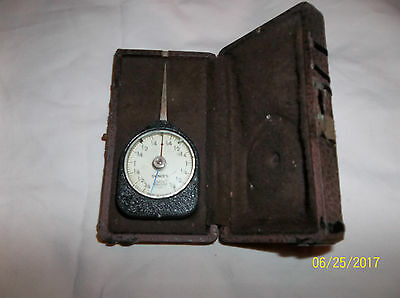 SCHERR TUMICO ARPO 1/4 to 1 OUNCES DIAL INDICATOR