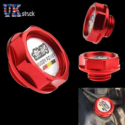 Red Honda Mugen Oil Filler Cap Civic Integra Type R Jdm Ep2 Ep3 Ej9 Ek9 Fn2 Uk