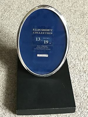 Sterling Silver oval picture frame from Ellis Shortt