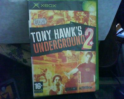 Xbox Game Version Of Tony Hawk's Underground 2 No Manual
