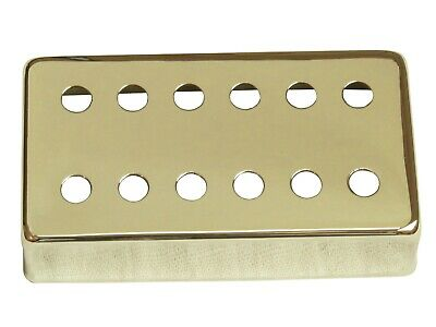 Humbucker cover 12 hole style, 50mm or 52mm, chrome finish