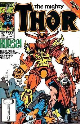 THOR 363 1st SERIES SECRET WARS AMERICAN COMIC BY MARVEL