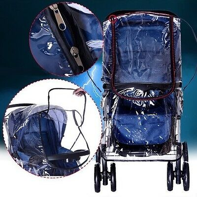 Universal Raincovers for Baby Pushchair Pram Stroller Buggy Pram Rain Cover UK