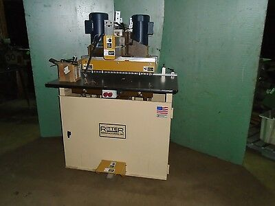 Ritter R 46  Line Boring machine Woodworking Machine Double row with Digital