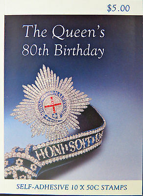 Booklet - 2006 Queen's 80th Birthday