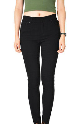 Wakee Black High Rise Jeggings. Size 6-16