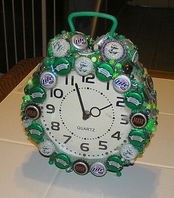 Beer Bottle Caps Clock Various Caps