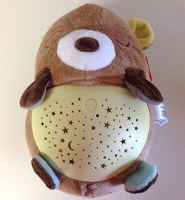Skip Hop Moonlight & Melodies Hug Me Bear Projection Soother (625888P)