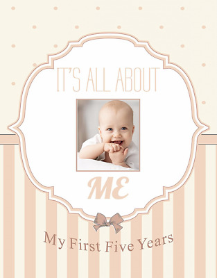 Normson First and Five Year Baby Memory and Record Book, Journal, Photo Album, S