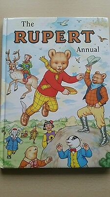Signed.Mint.Unread 1999 Rupert  The Bear Annual.