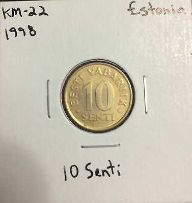 KM-22 Estonia (1998) 10 Senti