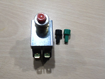 Burgess 2Vcf9T1Bgr Dual Micro Switch Push Button Assembly. Red/black/green.