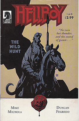 HELLBOY: THE WILD HUNT 1 - 1st PRINT (MODERN AGE 2007) - 8.0