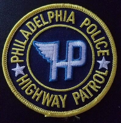 Philadelphia Police Highway Patrol Patch