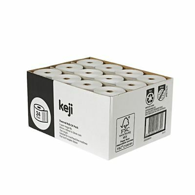 Bulk Buy - 3 x Keji Thermal Rolls 80 x 80mm 24 Pack