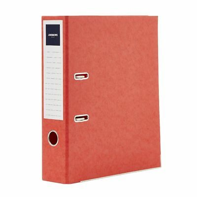 Bulk Buy - 10 x J.Burrows Pressboard Lever Arch File A4 2 Ring Red