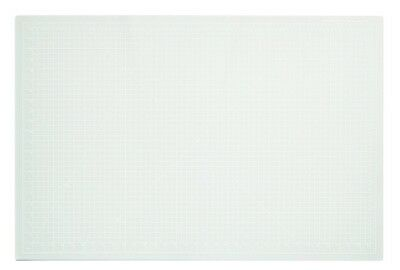 "Dahle10683 Vantage Self-Healing Cutting Mat  24"" x 36""  Crystal Clear -  New"