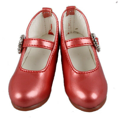 [wamami] 133# Red 1/3 SD AOD DOD BJD Dollfie Synthetic Faux Leather Shoes
