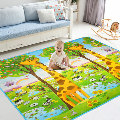 Baby Play Mat Child Activity Foam Floor Soft Kid Educational Toy Gift Gym Crawl