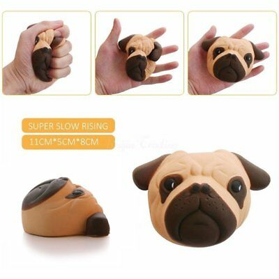 11cm Kawaii Squishy Dog Bread Slow Rising Pendant Cream Scented Toy Kids Gift