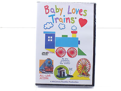 New Sealed DVD - Baby Loves Trains