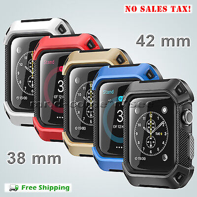 Apple Watch Case 38 / 42 mm Strap Bands SUPCASE Rugged Protective iWatch Bumper