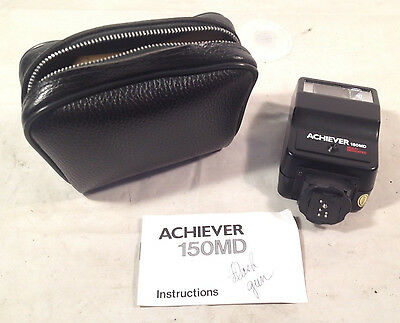 Achiever 150 MD Multi-dedicated Flash with Case Tested and Works!