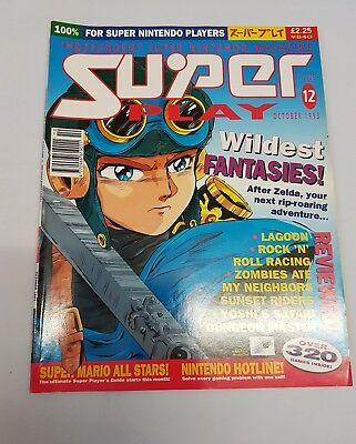 Super Play Magazine issue 12 October 1993 Snes Super Nintendo