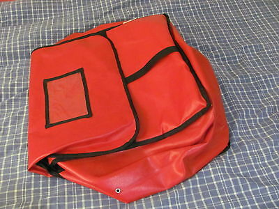 Extra Large Thermal Insulated Hot Food Delivery Bag, Holds Several XLarge Pizzas