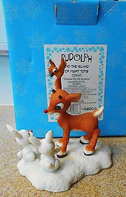 Enesco Rudolph And The Island Of Misfit Toys Friends For All Seasons Figurine