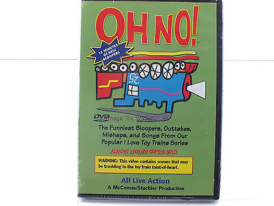 """New Sealed DVD - I love Toy Trains """"Bloopers"""" - OH NO !"""