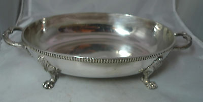 Victorian Silver Plated Serving Dish Silber & Fleming? A602817