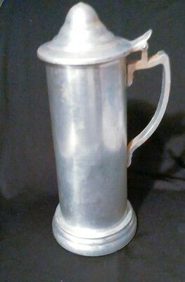 Stein Plain Design Clear Bottom Hinged Lid Metal with Handle
