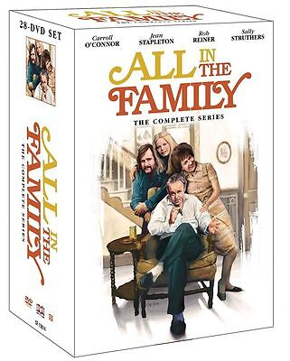 New! All in the Family: The Complete Series 1-9 DVD 28-Disc Set Free Shipping!