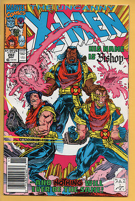 Uncanny X-Men #282 Marvel Comics 1991 1st Appearance of Bishop NM