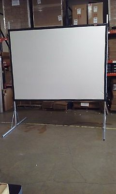 "Draper Cinefold (218011) 120"" 4:3 Projector Screen 6X8 foot"