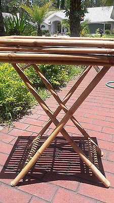 Bamboo Serving Table-Bamboo Table