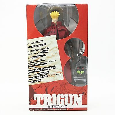 """Toycom Trigun Vash the Stampede Anime Collector's Doll Figure Red Version 12"""""""