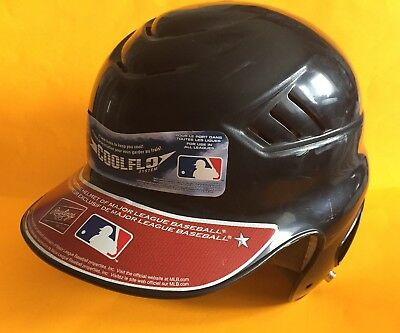Rawlings CFBH Batting Helmet Size 6 1/2 - 7 1/2 BLACK Used With Tags