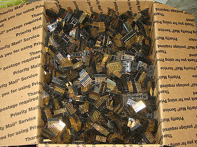 7 lbs Lot Wire Wrap DIP IC Sockets New for Project or Gold Recovery (208a)