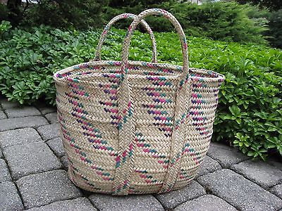 Huge Ethiopian Farmers Market Bag Purse : Ethiopia African Basket