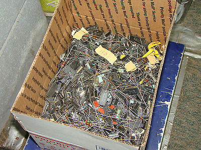 13 lbs Mixed Lot Various Electronic Parts for Project or Metal Recovery (218)