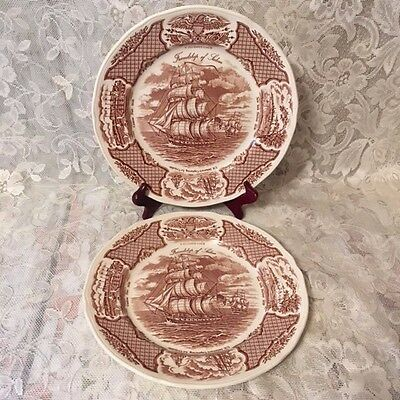 "Alfred Meakin ""The Friendship of Salem"" Fair Winds Series Collector Plates (2)"