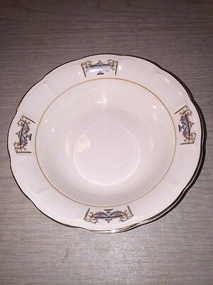 Sebring NORMANDIE cereal bowl 22K Gold Ivory Porcelain