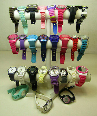 Watch Lot Men's & Women's Jewelry w. Nixon Times Swatch AS IS Silicone Rubber